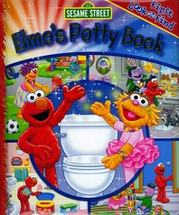Book My 1st Look & Find Elmos Potty Bk by Na