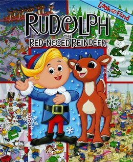 Book Rudolph The Red-nose Reindeer Look & Find by Na