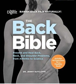 Book The Back Bible: Banish Back Pain Naturally! by Dr Jenny Sutcliffe