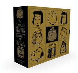 Book The Complete Peanuts 1987-1990 Gift Box Set by Charles M Schulz