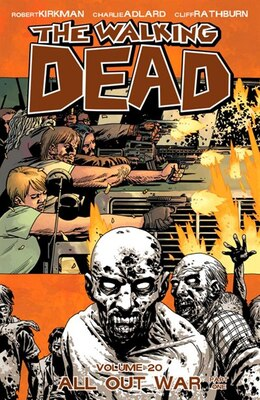 Book The Walking Dead Volume 20: All Out War Part 1 by Charlie Adlard