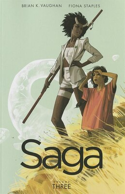 Book Saga Volume 3 by Brian K Vaughan