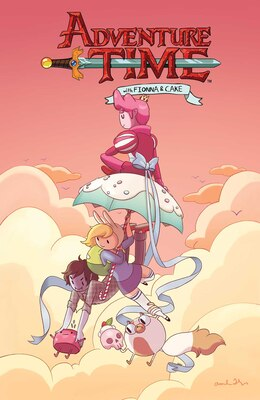 Book Adventure Time: Fionna & Cake: Fionna & Cake by Natasha Allegri