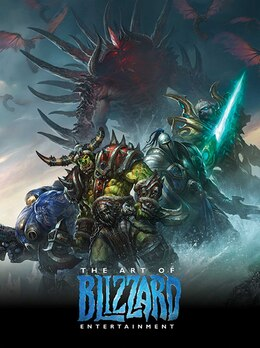 Book The Art of Blizzard Entertainment by Nick Carpenter