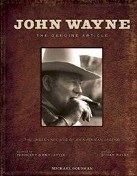 Book John Wayne by Wayne Goldman