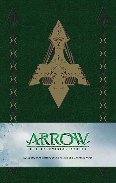 Arrow Hardcover Ruled Journal by . Warner Bros. Consumer Products Inc.