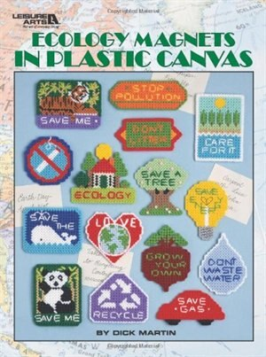Ecology Magnets in Plastic Canvas by Leisure Arts