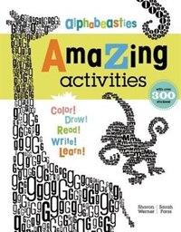 Alphabeasties Amazing Activity Book