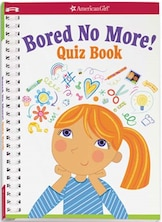 Book Bored No More! Quiz Book by Aubre Andrus