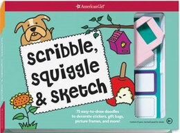 Book Scribble Squiggle Sketch: 75 Easy-to-draw Doodles To Decorate Stickers, Gift Bags, Picture Frames… by Kristi Thom