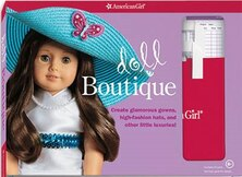 Book Doll Boutique: Create Glamorous Gowns, High-fashion Hats, And Other Little Luxuries! by Trula Magruder