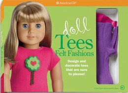 Book Doll Tees Felt Fashions by American Girl