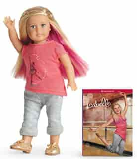 Isabelle Mini Doll And Book by American Girl Publishing