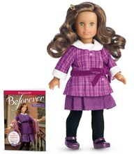 Book Rebecca 2014 Mini Doll And Book by American Girl