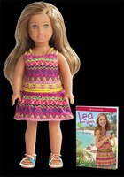 Lea Clark Girl Of The Year 2016 Mini Doll And Book