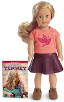 Tenney Mini Doll/book
