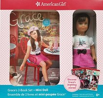 Grace 2 Book Set + Mini Doll