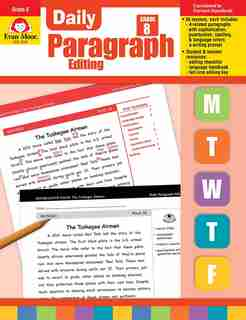 Daily Paragraph Editing Grade 8 by Evan-moor Educational Publishers