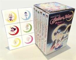 Book Sailor Moon Box Set (Vol. 1-6) by Naoko Takeuchi