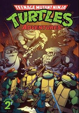 Book Teenage Mutant Ninja Turtles Adventures Volume 2 by Dan Clarrain