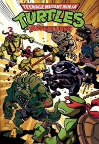 Book Teenage Mutant Ninja Turtles Adventures Volume 4 by Dean Clarrain