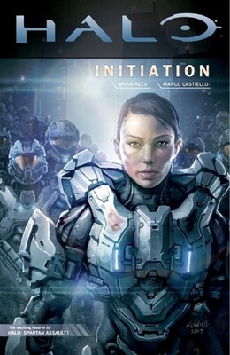 Book Halo: Initiation by Brian Reed
