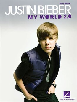 Book Justin Bieber - My World 2.0: Easy Piano by Justin Bieber