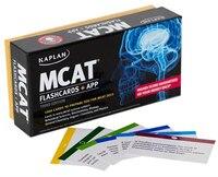 Kaplan MCAT Flashcards + App: Print + App