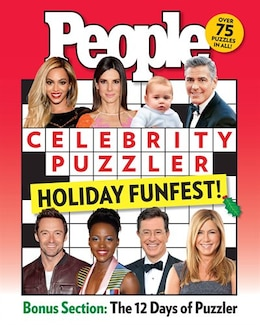 Book People Celebrity Puzzler Holiday Funfest! by Editors Of People Magazine