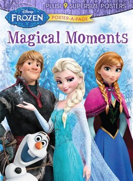 Book Disney Frozen: Magical Moments Poster-a-page by Disney
