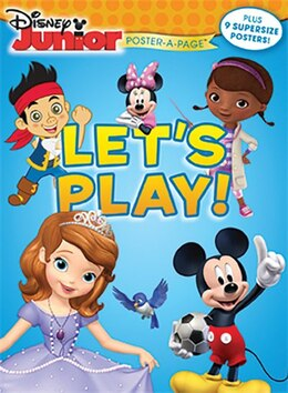Book Disney Junior: Let's Play! Poster-a-page by Disney