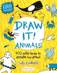 Draw It! Animals: 100 Wild Things To Doodle And Draw!