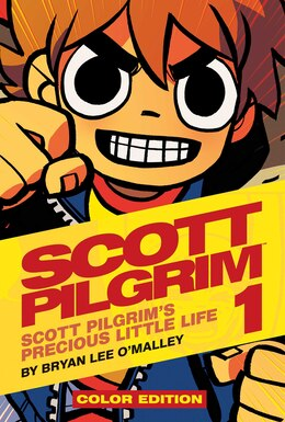 Book Scott Pilgrim Color Hardcover Volume 1: Precious Little Life by Bryan Lee O'malley