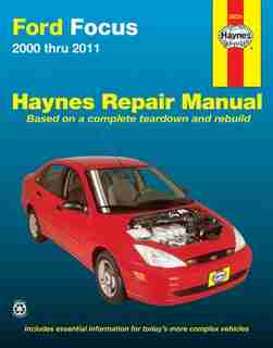 Ford Focus 2000 Thru 2011 Haynes Repair Manual by Max Haynes