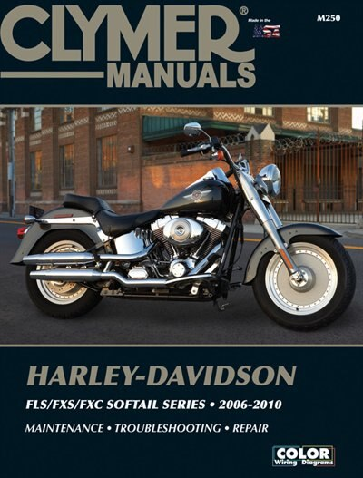 Harley-davidson Fls/fxs/fxc Sofftail Series 2006-2010 by Clymer Publications