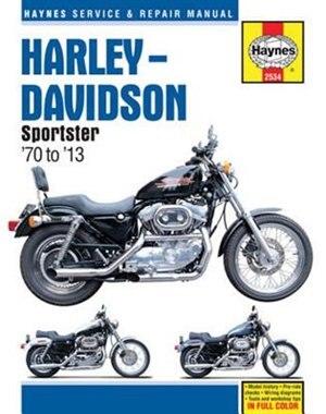 Harley-davidson Sportster '70 To '13 by John Haynes