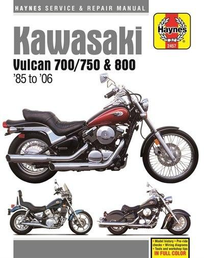 Kawasaki Vulcan 700 (1985), Vulcan 750 (85-06), Vulcan 800 (95-05), Vulcan 800 Classic (96-02) & Vulcan 600 Drifter (99-06) by Haynes Publishing
