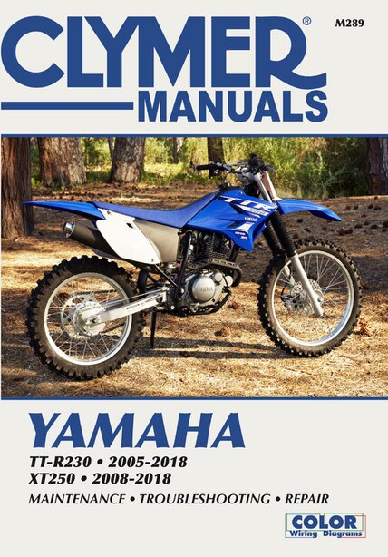 Yamaha Xt250 2008-18, Tt-r230 2005-18 by Haynes Publishing