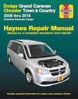 Dodge Grand Caravan & Chrysler Town & Country (08-18) (including Caravan Cargo) Haynes Repair…