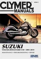 Suzuki Volusia/boulevard C50 (2001-2019) Clymer Repair Manual: Maintenance * Troubleshooting…