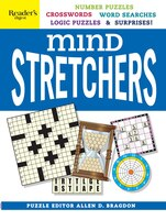 Reader's Digest Mind Stretchers Puzzle Book: Number Puzzles, Crosswords, Word Searches, Logic…