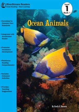 Animal Wrld:Ocean Animals, Book 1