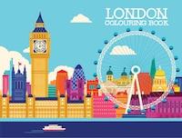 London Colouring Book