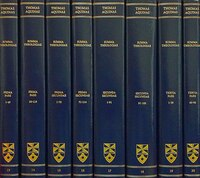 Summa Theologiae: Complete Set (latin-english Edition)