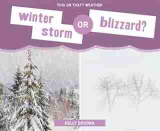 Winter Storm Or Blizzard? by Kelly Doudna