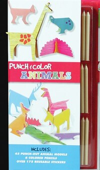 Punch & Color: Animals