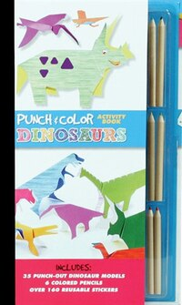 Punch & Color: Dinosaurs