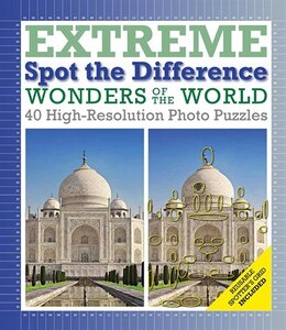 Book Wonders Of The World: Extreme Spot The Difference by Richard Wolfrik Galland