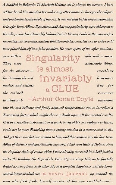 A Novel Journal: The Adventures Of Sherlock Holmes (compact) by Sir Arthur Conan Doyle