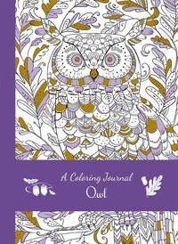 Coloring Journal Owl